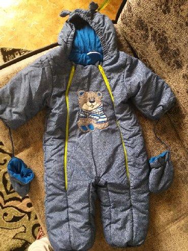 резиновый комбинезон детский в Кыргызстан: Комбинезон детский зимний 80 см