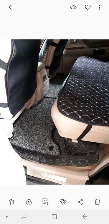 Продаётся полики 3D на Lexus LX470 в комплекте черный на белым нитке