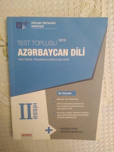 Azərbaycan dili test toplusu 2ci hissə çox az istifadə olunub