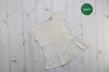 Топы и рубашки - Next - Киев: Дитяча футболка з мереживом Next, вік 4 р.    Довжина: 40 см Ширина пл