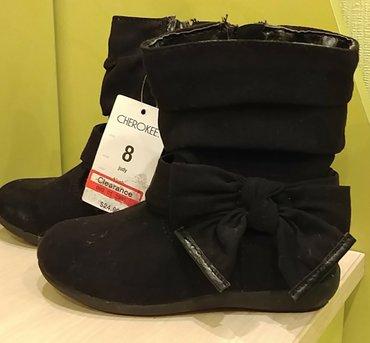 замшевая туфля в Кыргызстан: Продам демисезонные сапожки, замшевые, нарядные, новые, из штатов
