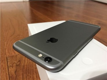Продаю iPhone 6 16gb Space Gray. Оригинал, не рефка, не Корея! Полный  в Бишкек