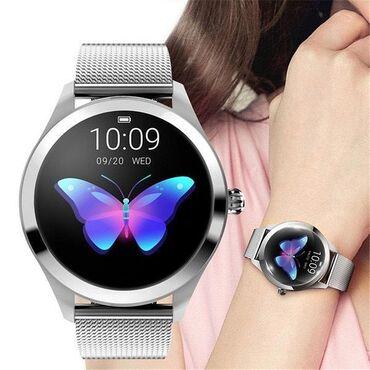 Cмарт часы-браслет c тонометром KingWear KW10Это устройство -