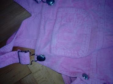 Haljina sa tregerima za devojcice u broju 92/98 ( za 24/36 meseci ) - Pozarevac