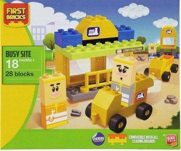 Decije kocke  First Bricks  28 kocki  kompatibilne sa lego - Novi Sad