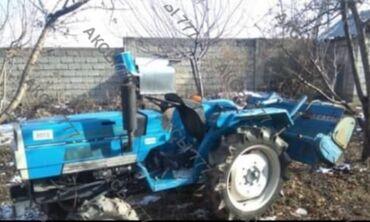Японский мини трактор сатылат абалы жакшы. Шаймандары Фреза. Картошка