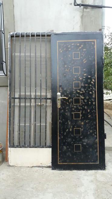 Белые двери - Азербайджан: Qapi дверь сейфовая с фурамугой очень качественная