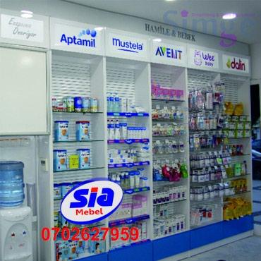 konteynerdən mağaza - Azərbaycan: Mağaza dekor vitrinlərin sifarişi