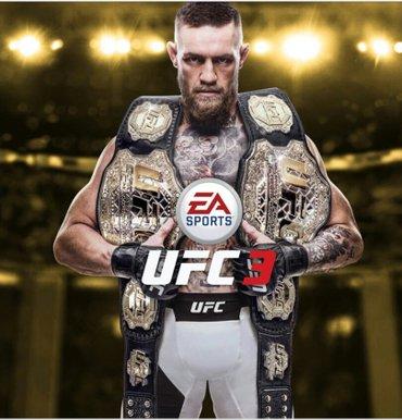 ufc 2 - Azərbaycan: UFC 3 Playstation 4 diski.  teze bagli qutuda