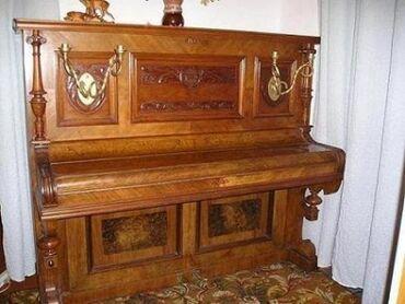 Пианино, фортепиано - Бишкек: Продаю Антикварное Концертное фортепиано 1914 года в отличном  состоян