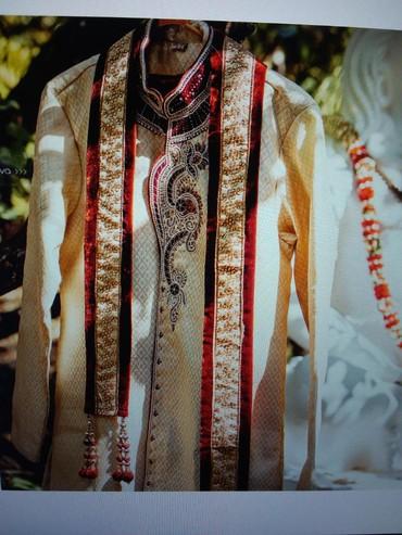 Другая мужская одежда в Бишкек: Мужской шикарный Шервани