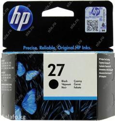 HP C8727AE №27 Black (10ml) в Бишкек