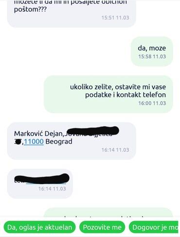 PREVARANTI, UREDNO NARUCE, A POTOM NE PREUZIMAJU PAKET! LISTA - Belgrade