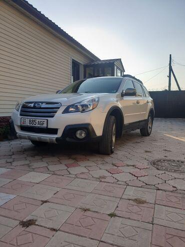svadebnye platja 2013 goda в Кыргызстан: Subaru Outback 2.5 л. 2013   220000 км