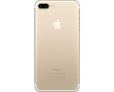 Apple Iphone - Состояние: Б/У - Бишкек: Б/У iPhone 7 Plus 32 ГБ Золотой