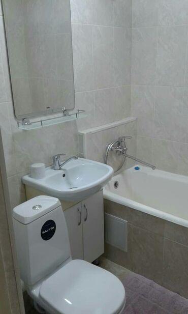 Долгосрочная аренда квартир - 2 комнаты - Бишкек: 2 комнаты, 44 кв. м С мебелью