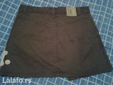 Mini suknjica za devojcice,vel 12-13 god. braon boje, H&M - Novi Sad