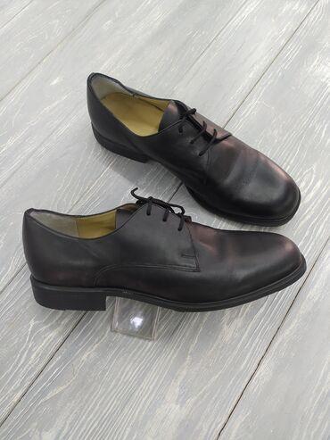 кожаная куртка мужская купить в Кыргызстан: Продаю кожаные мужские туфли. Из натуральной кожи. Производство Европа