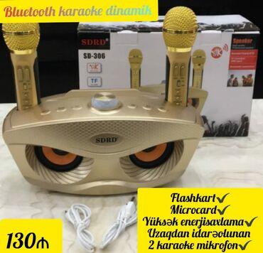 Mikrofonlar - Azərbaycan: Bluetooth karaoke dinamik