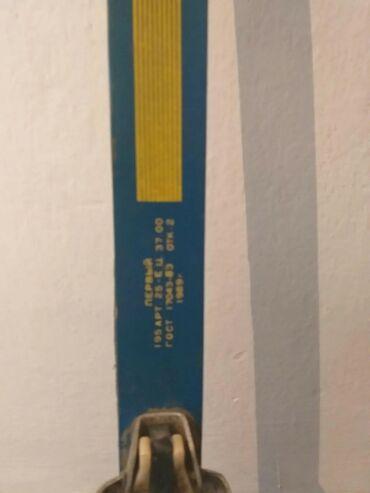 Лыжи - Бишкек: Продаются лыжи 1989 года,в отличном состоянии длина 196 см