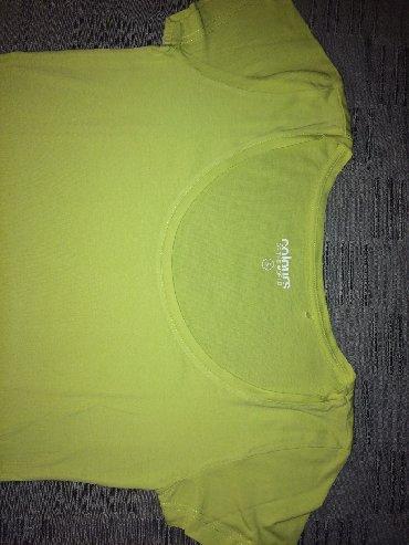 Majica zelena - Srbija: Zelena ženska C&A majica. NOVO