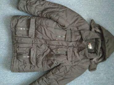 жён куртка в Кыргызстан: 54 размер Зимняя куртка Капюшон снимается