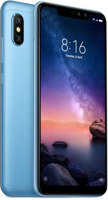 Xiaomi redmi note 3 pro 2 16gb silver - Azerbejdžan: Novo Xiaomi Redmi Note 6 Pro 64 GB plavo