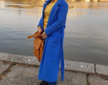 Ponco vuna akril - Srbija: Kaput 80% vuna 3000din