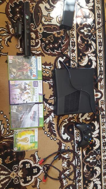 Xbox 360 & Xbox - Azərbaycan: Oyun konsolu təzə kimi Xbox 360 heç demək olarkı 5-6 dəfə qoşmuşuq + K