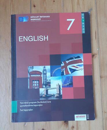 - Azərbaycan: İngilis dili, 7-ci sinif DİM testi