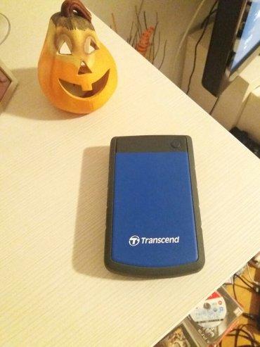 Externi hard disk transcend 2. 5', kao nov od 1tbsa igricama za cipov в Novi Sad
