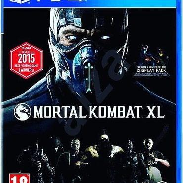 Bakı şəhərində Mortal kombat Xl Ps4 oyunu. Yenidir Ps4 lenti bağlamada