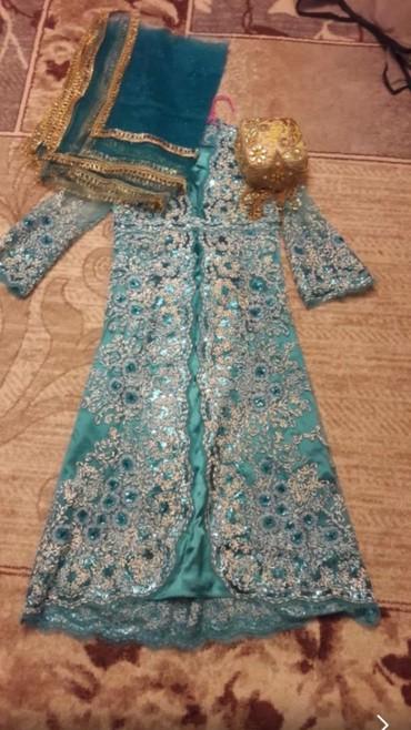 туники со штанами в Кыргызстан: Платье со штанами для никях, подойдет на размеры 42-46. в комплект вхо