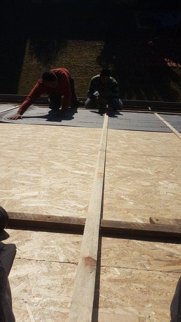 Patosenje krova pranje i farbanje crepa - Barajevo