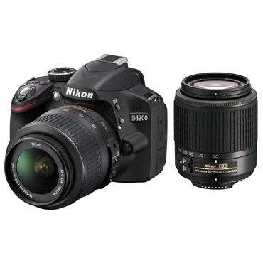 Сдаю в аренду фотоаппарат Nikon D3200.  в Бишкек