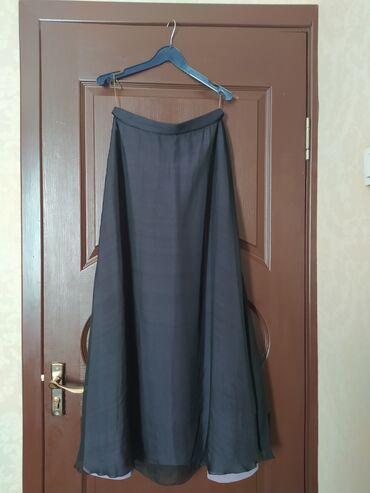 Юбка шелк maxi 44-46 размер