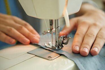 Швейное дело - Бишкек: Требуется швея с опытом работы. Район Восток-5Женская, детская