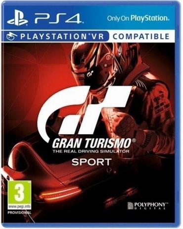Bakı şəhərində Ps4 üçün Gran Turismo Sport oyun diski satılır