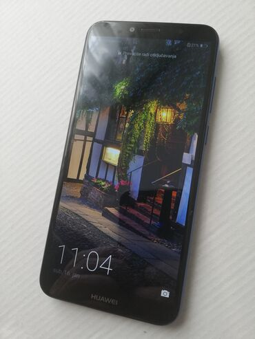 Huawei y6 dual sim - Srbija: Huawei Y6 2018 u odlicnom stanju. Telefon je potpuno ispravan, prima