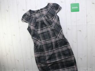 Женское платье в клетку Oodji,р.S Длина: 96 см Пог: 35 см Поб: 39 см