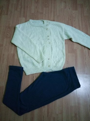 Ženske pantalone | Lebane: Dzemper i pantalone u velicini L.bez ostecenja.Zajedno 500din
