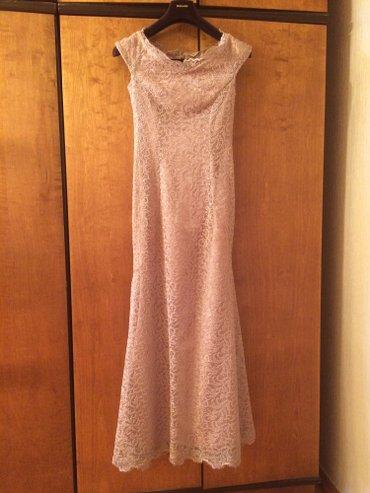 Bakı şəhərində Вечернее платье, размер 38, фасон рыбка, к нему естть босоножки и клат