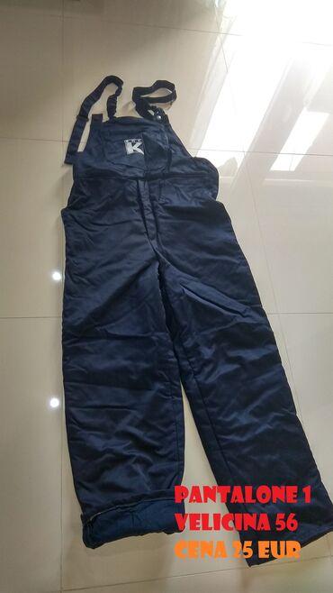 Pantalone eur - Srbija: Radno zimsko odelo_________Termo pantalone na tregere 2 - Velicina 52