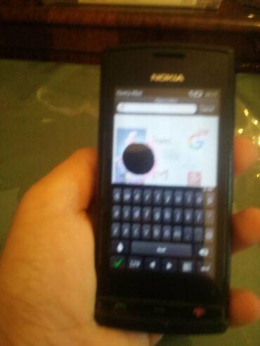 Nokia Azərbaycanda: Nokia 500 işləyir ekranda balaca xarab var internetə girir real