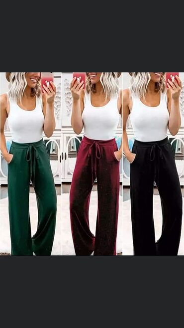 Akcijaaaa Prijatne i lagane pantalone od viskoze S m l xl 950 din