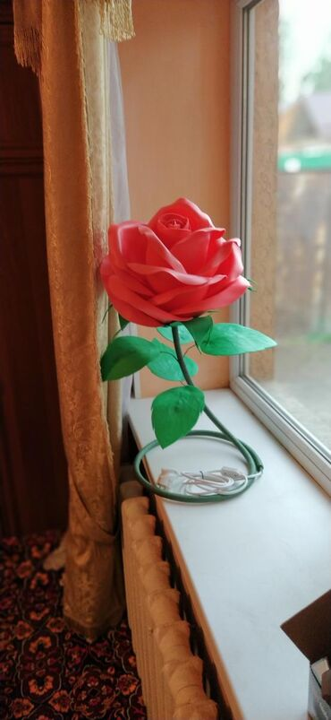 Декоративные цветы ручной работы!!!