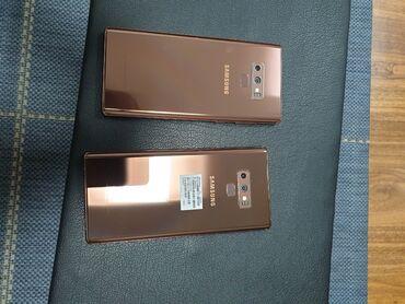 автомобиль nissan note в Кыргызстан: Б/у Samsung Galaxy Note 9 128 ГБ Черный
