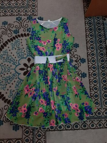Платья на лето по низким ценам!Красочные платья для девочек на лето