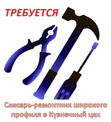Слесарь-ремонтник широкого профиля в в Бишкек
