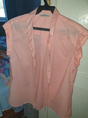 Новая рубашка без рукавов размер S